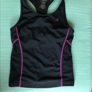 Danskin Athletic Top with sport side pockets